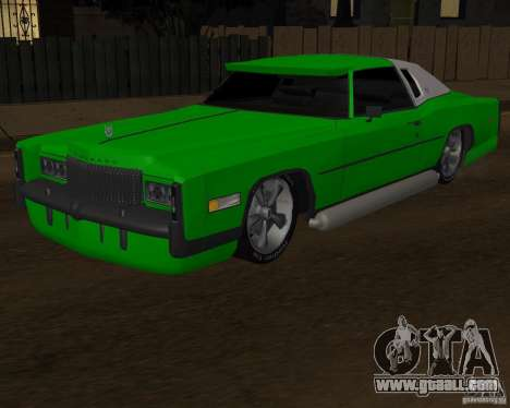 Cadillac Eldorado for GTA San Andreas side view