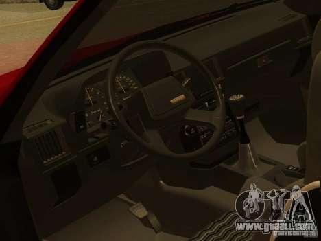 Toyota Celica Supra for GTA San Andreas upper view