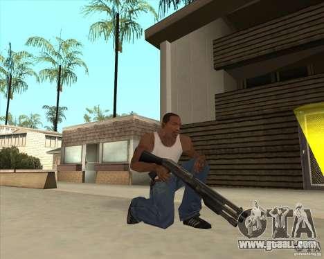 Benelli M3 Super 90 for GTA San Andreas third screenshot