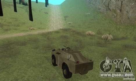 BRDM-1 Skin 2 for GTA San Andreas right view