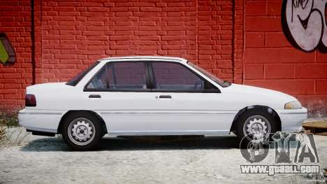 Mercury Tracer 1993 v1.0 for GTA 4 side view