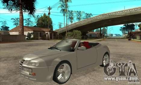 Alfa Romeo Spyder for GTA San Andreas