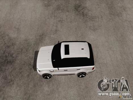 Range Rover Tuning for GTA San Andreas left view