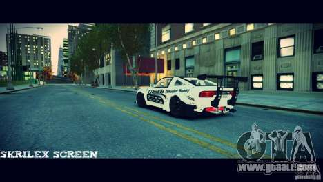 Nissan 380sx BenSpora for GTA 4 back left view