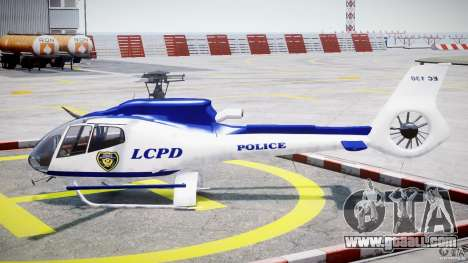 Eurocopter EC 130 LCPD for GTA 4 left view