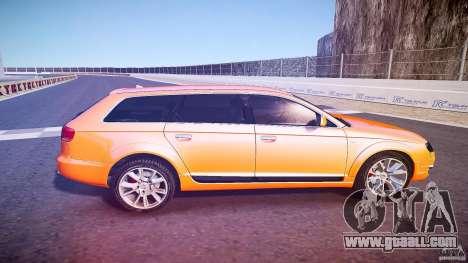 Audi A6 Allroad Quattro 2007 wheel 2 for GTA 4 side view
