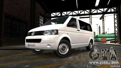 Volkswagen T5 Facelift for GTA 4 right view