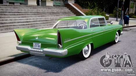 Plymouth Belvedere 1957 v1.0 for GTA 4 upper view