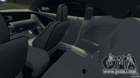 Chevrolet Camaro ZL1 2012 v1.0 Flames for GTA 4 inner view