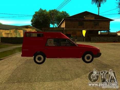 AZLK 2901 for GTA San Andreas back left view