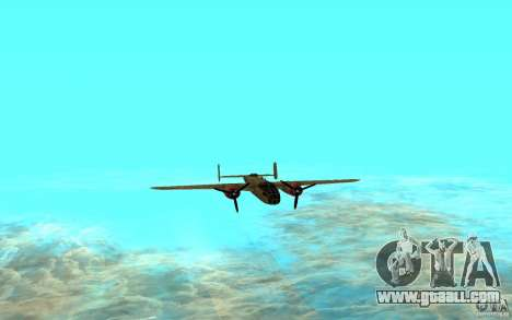 B-25 Mitchell for GTA San Andreas