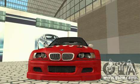 BMW M3 Tunable for GTA San Andreas wheels