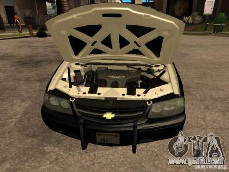 Chevrolet Impala Police 2003 for GTA San Andreas right view