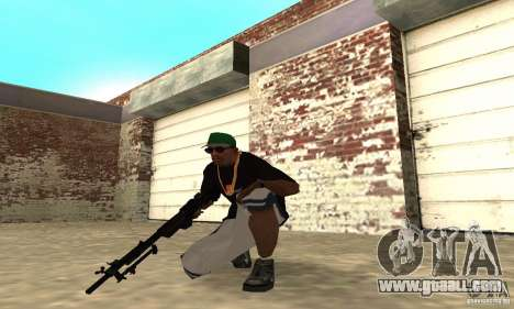 Browning M1919 for GTA San Andreas third screenshot