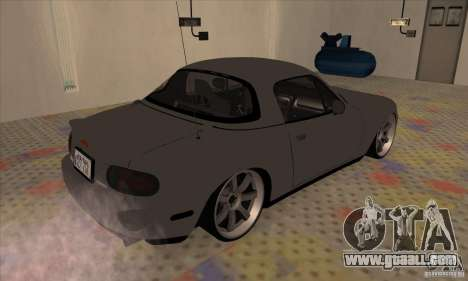 Mazda MX-5 for GTA San Andreas back left view