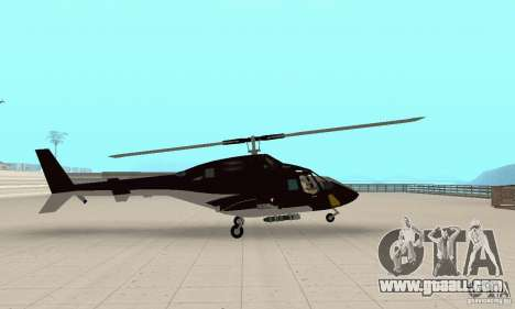 Airwolf for GTA San Andreas