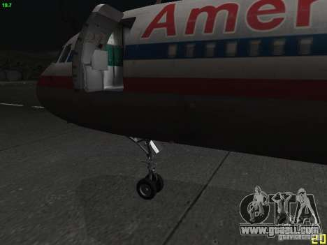 Airbus A320 for GTA San Andreas right view
