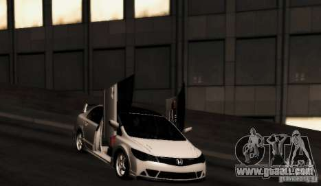 Honda Civic JDM for GTA San Andreas right view