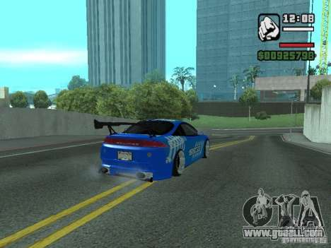 Mitsubishi Eclipse Tunning for GTA San Andreas left view
