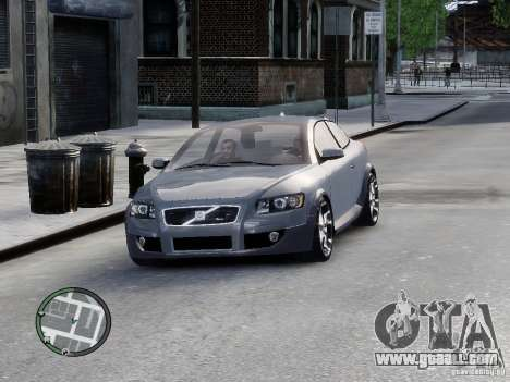 VOLVO C20 RSIGION for GTA 4 back left view
