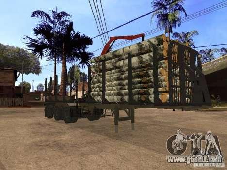 Trailer MAZ 99864 for GTA San Andreas