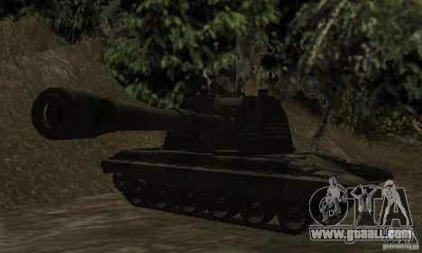 Msta-s 2s19, standard version for GTA San Andreas