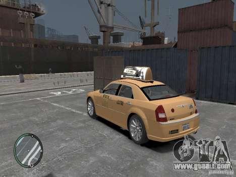 Chrysler 300c Taxi v.2.0 for GTA 4 left view