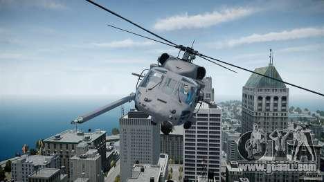 HH-60G Pavehawk for GTA 4 left view