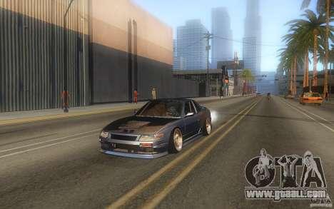 Nissan Silvia S13 Odyvia for GTA San Andreas back left view