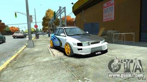 Subaru Impreza 22B STI 1999 for GTA 4