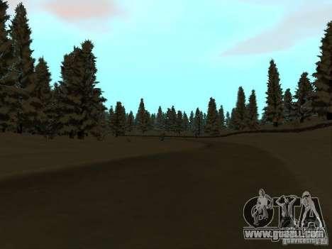 Winter Trail for GTA San Andreas third screenshot