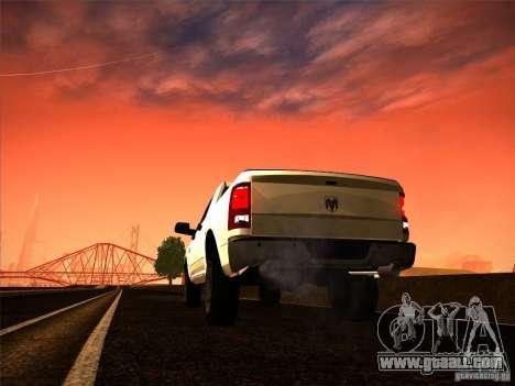 Dodge Ram Heavy Duty 2500 for GTA San Andreas left view