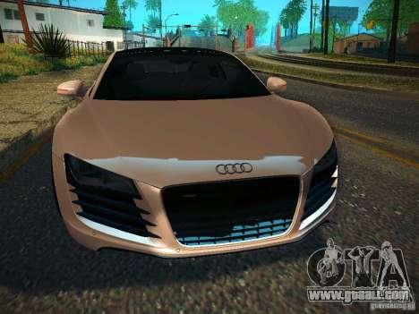 Audi R8 V10 for GTA San Andreas