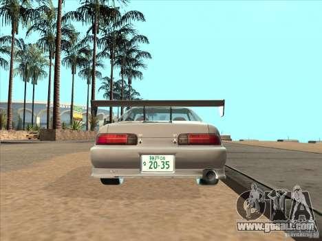 Toyota Soarer (JZZ30) for GTA San Andreas back left view