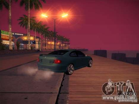 Pontiac FE GTO for GTA San Andreas inner view