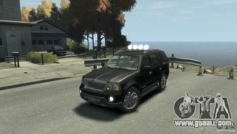 Lincoln Navigator for GTA 4