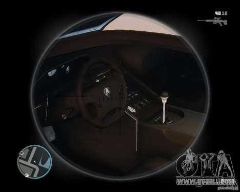 Lamborghini Diablo SV 1997 EPM v.2.3 for GTA 4 back view