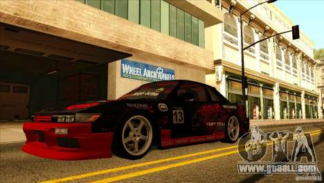 Nissan Silvia S13 MyGame Drift Team for GTA San Andreas right view