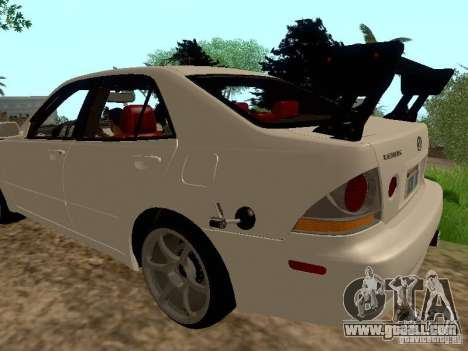 Lexus IS300 Drift for GTA San Andreas left view