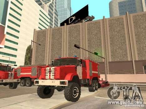 ZIL Firetruck for GTA San Andreas