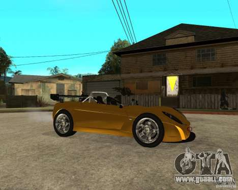 Lotus 2-Eleven for GTA San Andreas right view