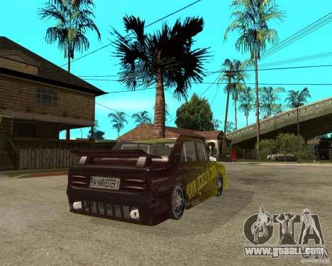 Anadol GtaTurk Drift Car for GTA San Andreas back left view