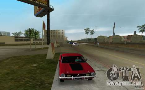 Ford Maverick GT 1975 for GTA Vice City back left view