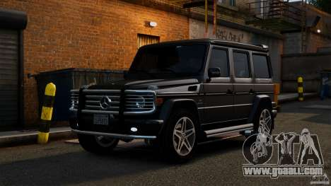 Mercedes-Benz G55 AMG 2011 for GTA 4