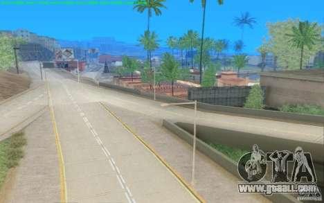 Concrete roads of Los Santos Beta for GTA San Andreas forth screenshot