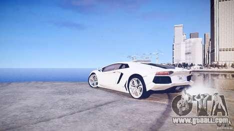 Lamborghini Aventador LP700-4 v1.0 for GTA 4 right view