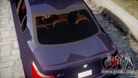 BMW M5 Lumma Tuning [BETA] for GTA 4 upper view