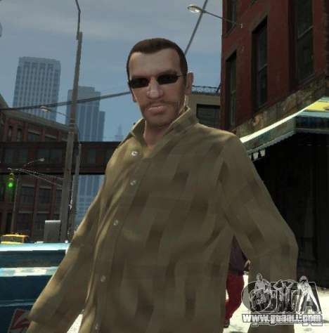 New glasses for Niko-dark for GTA 4 second screenshot