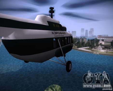 MI-8 for GTA Vice City back view