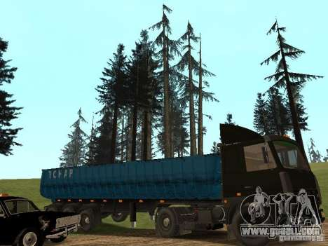 Semi-trailer Tonar 95234 for GTA San Andreas right view